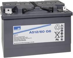 Batterie au plomb 12 V 60 Ah GNB Sonnenschein A512/60 G6 plomb-gel (l x h x p) 278 x 190 x 175 mm raccord à vis M6 sans