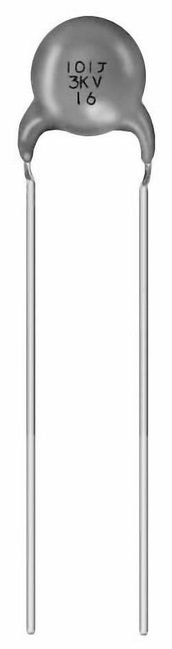 Condensateur céramique sortie radiale Murata DEA1X3D100JC1B 10 pF 2000 V 10 % 500 pc(s)