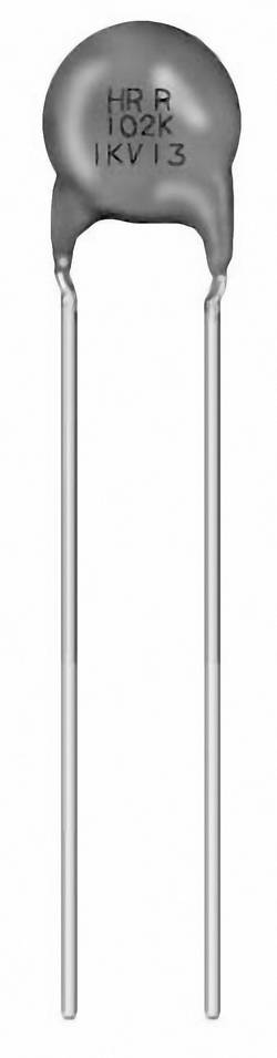 Condensateur céramique disque sortie radiale Murata DEHR33D561KN3A 560 pF 2000 V 10 % 900 pc(s)