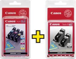 Pack de cartouches d'origine Canon PGI-525 / CLI-526 noir, cyan, magenta, jaune remplace Canon PGI-525, CLI-526