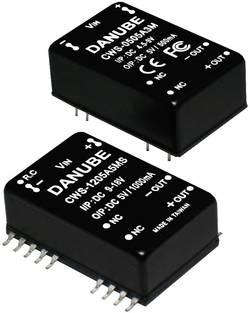 Convertisseur CC/CC pour circuits imprimés Danube CWS-1212A12M Nbr. de sorties: 1 x 12 V/DC 12 V/DC 1 A 12 W 1 pc(s)