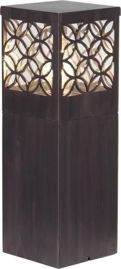 Lampadaire extérieur Brilliant Lida 60 W marron rouille 47 cm
