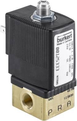 Vanne à commande directe 3/2 voies Bürkert 125333 24 V/DC G 1/8 Largeur 2 mm Matériau du boîtier laiton Matériau isolant