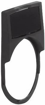 Porte-étiquette BACO 224315 rond noir 1 pc(s)