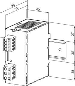 Alimentation rail DIN WAGO 787-602 28.8 V/DC 1.3 A 31.2 W 1 x