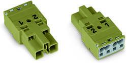 Connecteur d'alimentation mâle, droit WAGO 770-1172 25 A Nbr total de pôles: 2 gris foncé Série WINSTA MIDI 100 pc(s)