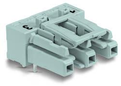 Connecteur d'alimentation embase femelle horizontale WAGO 770-843/011-000/060-000 25 A Nbr total de pôles: 3 gris Série