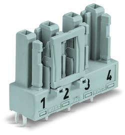 Connecteur d'alimentation embase femelle, verticale WAGO 770-844/062-000 25 A Nbr total de pôles: 4 gris Série WINSTA M