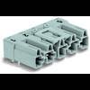 Connecteur d'alimentation embase mâle horizontale WAGO 770-855/011-000/062-000 25 A Nbr total de pôles: 5 gris Série WI