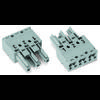 Connecteur d'alimentation femelle, droit WAGO 770-243 25 A Nbr total de pôles: 3 gris Série WINSTA MIDI 100 pc(s)