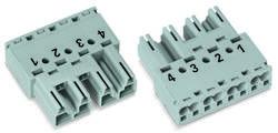 Connecteur d'alimentation mâle, droit WAGO 770-234 25 A Nbr total de pôles: 4 blanc Série WINSTA MIDI 50 pc(s)