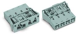 Connecteur d'alimentation mâle, droit WAGO 770-754 25 A Nbr total de pôles: 4 gris Série WINSTA MIDI 100 pc(s)