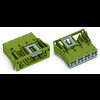 Connecteur d'alimentation femelle, droit WAGO 770-704 25 A Nbr total de pôles: 4 noir Série WINSTA MIDI 100 pc(s)