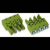 Connecteur d'alimentation femelle, droit WAGO 770-244/064-000 25 A Nbr total de pôles: 4 gris Série WINSTA MIDI 50 pc(s