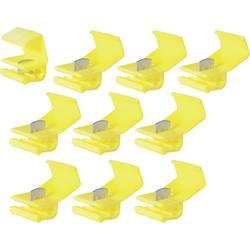 cosses lectriques connecteur rapide kv 6 jaune. Black Bedroom Furniture Sets. Home Design Ideas