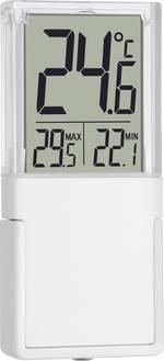 Thermomètre de fenêtre Vista argent