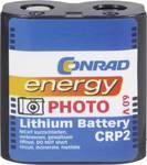 Pile photo au lithium CR P2 Conrad Energy