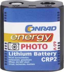 Pile photo CR-P 2 lithium Conrad energy CRP2 1400 mAh 6 V 1 pc(s)