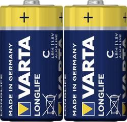 Pile LR14(C) alcaline(s) Varta Longlife LR14 7600 mAh 1.5 V 2 pc(s)