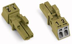 Connecteur d'alimentation femelle, droit WAGO 890-262 16 A Nbr total de pôles: 2 vert clair Série WINSTA MINI 50 pc(s)