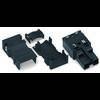 Connecteur d'alimentation mâle, droit WAGO 770-112/041-000 25 A Nbr total de pôles: 2 noir Série WINSTA MIDI 25 pc(s)