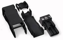 Connecteur d'alimentation femelle, droit WAGO 890-103 16 A Nbr total de pôles: 3 noir Série WINSTA MINI 50 pièce