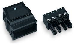 Connecteur d'alimentation femelle, droit WAGO 770-104 25 A Nbr total de pôles: 4 noir Série WINSTA MIDI 25 pc(s)