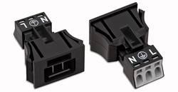Connecteur d'alimentation mâle, droit WAGO 890-713/006-000 16 A Nbr total de pôles: 3 noir Série WINSTA MINI 50 pc(s)