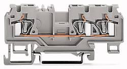 Bloc de jonction traversant WAGO 880-662/999-940 5 mm ressort de traction orange 50 pc(s)