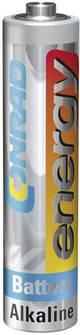 Pile LR03 (AAA) alcaline(s) Conrad energy LR03 1.5 V 1 pc(s)