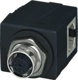 Connecteur non confectionné Phoenix Contact CUC-BH-M12D1PBK-A/R4BE 1414397 Traverse d'armoire de commande Nbr de pôles