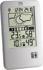 Station météo radiopilotée numérique TFA 35.1109 argent (mat)