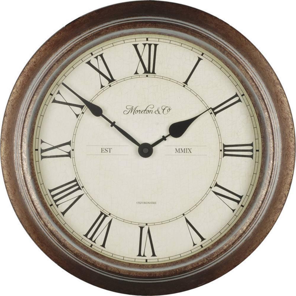 Salle De Bain Shower Curtain ~ Techno Line Wt 7006 Quartz Horloge Murale 36 Cm X 7 Cm Bois Pour