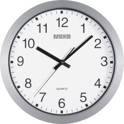 Horloge murale à quartz Eurochron A3199 argent 30.5 cm x 3.8 cm
