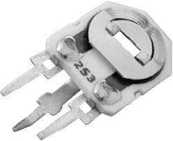 Trimmer Cermet 220 Ω AB Elektronik 2002110555 réglage horizontal linéaire 0.5 W 1 pc(s)