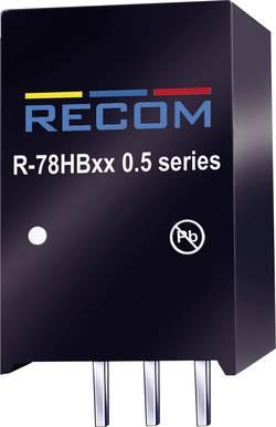 Convertisseur CC/CC pour circuits imprimés RECOM R-78HB3.3-0.5 Nbr. de sorties: 1 x 48 V/DC 3.3 V/DC 0.5 A 1.65 W 1 pc(s