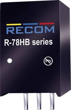 Convertisseur CC/CC pour circuits imprimés RECOM R-78HB24-0.3 Nbr. de sorties: 1 x 72 V/DC 24 V/DC 0.3 A 7.2 W 1 pc(s)