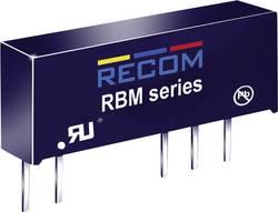 Convertisseur CC/CC pour circuits imprimés RECOM RBM-0505D Nbr. de sorties: 2 x 5 V/DC 5 V/DC, -5 V/DC 100 mA 1 W 1 pc(s