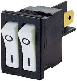 Interrupteur à bascule Arcolectric H880TVAAAB 250 V/AC 10 A 2 x Off/On à accrochage 1 pc(s)