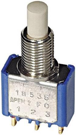 APEM 18545CD Bouton-poussoir à rappel 30 V/DC 0.1 A