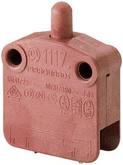 Bouton-poussoir à rappel Marquardt 1117.0201 400 V/AC 16 A 1 x On/(Off) IP40 à rappel 1 pc(s)