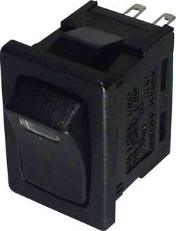 SCI Interrupteur à bascule R13-66L-02 LED 12V/DC 250 V/AC 6 A