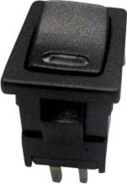 SCI Interrupteur à bascule R13-66L-02 LED 24V/DC 250 V/AC 6 A