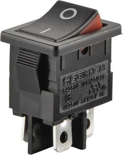 Interrupteur à bascule TRU COMPONENTS TC-R13-73A2-02 1587540 250 V/AC 6 A 2 x Off/On à accrochage 1 pc(s)