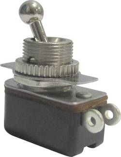Interrupteur à levier 1 x Off/On TRU COMPONENTS TC-R13-36A1-05 1587679 250 V/AC 3 A à accrochage 1 pc(s)