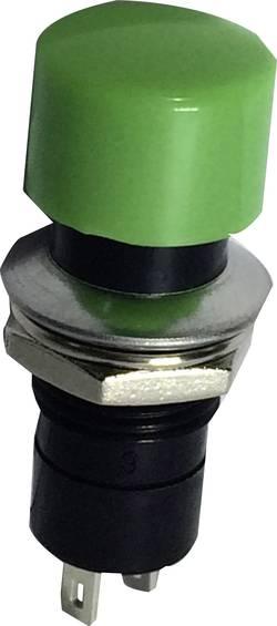 Bouton-poussoir à rappel TRU COMPONENTS TC-R13-40A-05GB 1587706 250 V/AC 1.5 A 1 x Off/(On) à rappel 1 pc(s)