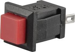 Bouton-poussoir à rappel TRU COMPONENTS TC-R13-57A-02RT 1587714 250 V/AC 0.5 A 1 x Off/(On) à rappel 1 pc(s)