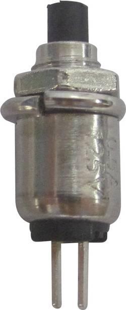 Bouton-poussoir à rappel TRU COMPONENTS TC-R13-81A-05BK 1587718 125 V/AC 0.5 A 1 x Off/(On) à rappel 1 pc(s)