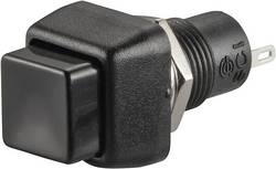 Bouton-poussoir à rappel TRU COMPONENTS TC-R13-83A-05BK 1587719 250 V/AC 1 A 1 x Off/(On) à rappel 1 pc(s)