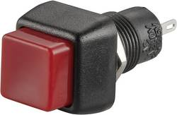 Bouton-poussoir à rappel TRU COMPONENTS TC-R13-83A-05RT 1587721 250 V/AC 1 A 1 x Off/(On) à rappel 1 pc(s)